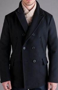 Billy Reid Melton Wool Bond Pea Coat
